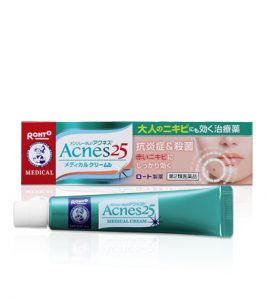 ニキビ跡の赤みを治す薬|アクネス25