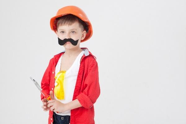子供のハロウィン仮装を100均で手作り|男の子