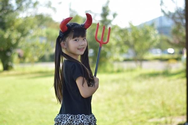 子供のハロウィン仮装を100均で手作り|100均が可愛い