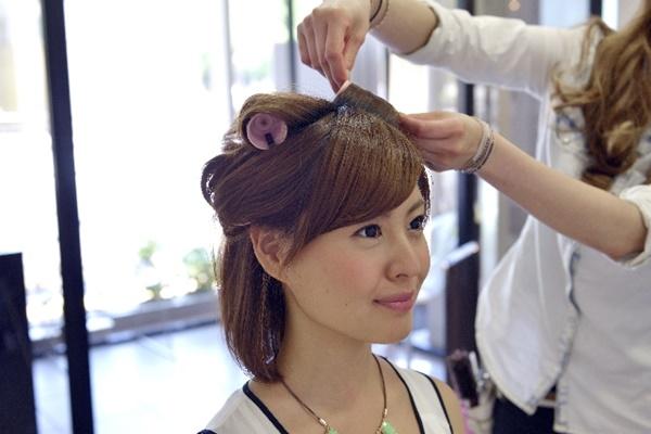 七五三ママ髪型|美容室