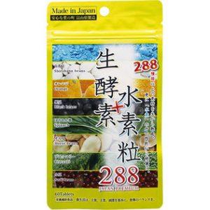 ドラックストアの市販ダイエットサプリ|協和薬品 生酵素+水素粒288