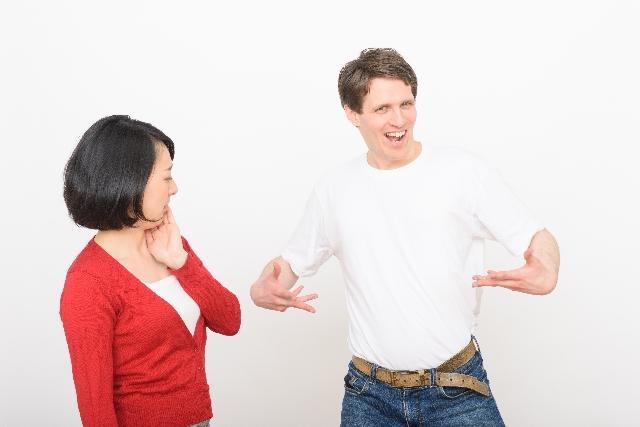 男性の好きな人への態度|オレオレアピールが強い