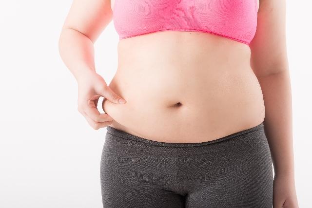 女性のぽっこりお腹の原因|肥満