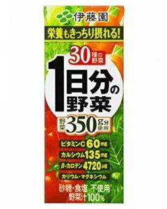 コンビニの酵素ドリンク|伊藤園 1日分の野菜