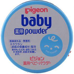ベビーパウダーの使い方|ピジョン ベビーパウダーブルー缶(150g )