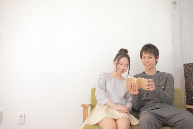 家デート|読書・音楽鑑賞