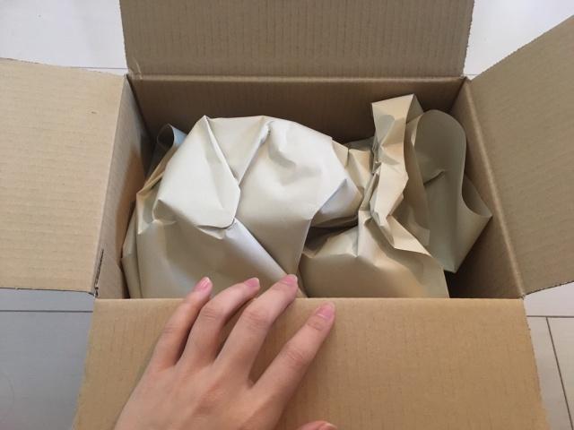 ルメントシャンプー口コミ|梱包