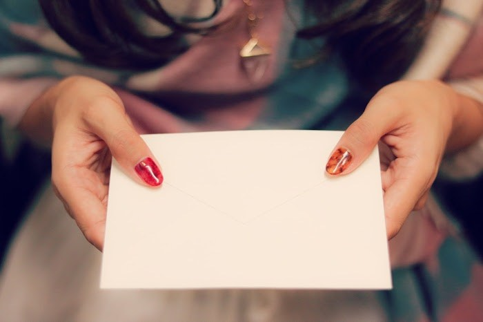 結婚記念日サプライズ|手紙