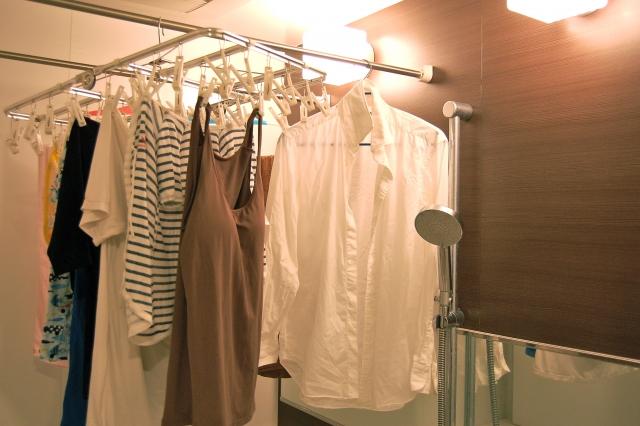 洗濯物の臭いの取り方|浴室乾燥