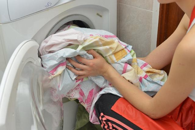 洗濯物の臭いの取り方|こまめに洗濯する