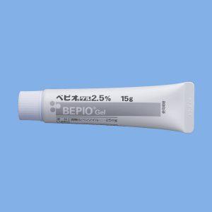 ニキビ跡を皮膚科で治療|ベピオゲル2.5%