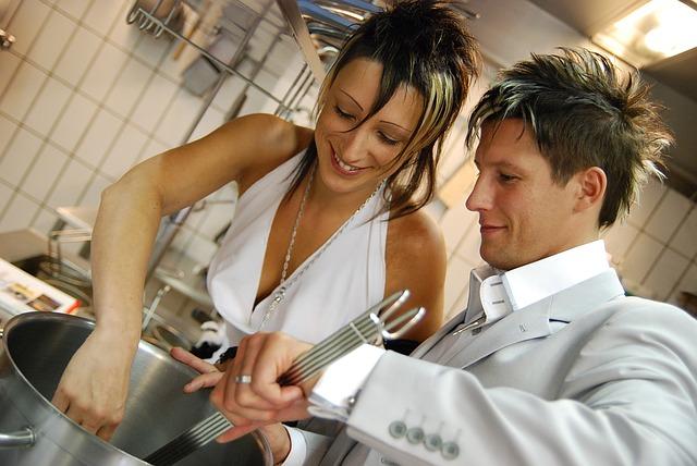 既婚女性と独身男性|料理が美味しい
