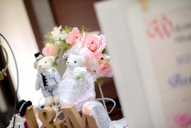 結婚式の受付飾り|基本はこれ!「ウェルカムボード」