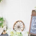 【結婚式の受付飾り】個性的なウエルカムスペースで盛り上げよう!