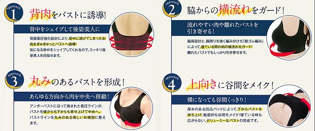 育乳ブラおすすめ人気ランキング5選【脱Aカップ】効果と口コミ比較